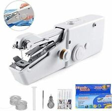Handheld Sewing Machine Mini Portable Electric Stitching Machine Fabric Clothing