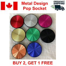Special Metal Pop Up Socket Expanding Out Phone Holder Stand Grip Mount Mobile