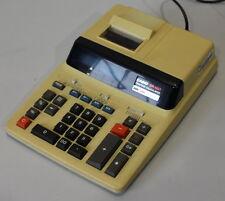 04-11-02093 Tischrechner Rechenmaschine CASIO DR-120T vergilbt ohne Rollenhalter