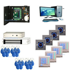 TCP/IP Access Controller + Lockable Case + PSU + Software+Keypad Reader+Mag Lock