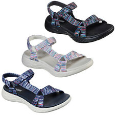 Skechers On The Go 600 - Electric Sandals Womens Summer Sport Adjustable Strap