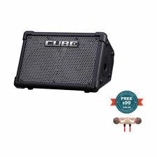 Roland CUBE Street EX 4-Ch 50W Battery Powered Amp w/Free Wireless Earbuds New