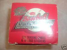 1986 FLEER BASEBALL CLASSIC MINIATURE CARDS