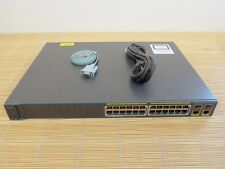 Cisco Catalyst WS-C2960-24PC-S 24x PoE Port Switch