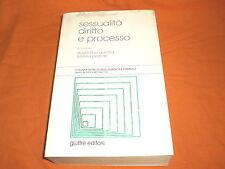 SESSUALITà DIRITTO E PROCESSO GIUFFRE' 2002 PAGINE 750