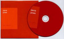 DENIS JONES Red + Yellow = 2010 UK 8-trk promo CD MINT