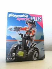 PLAYMOBIL 5296 Top Agent mit Balace Racer 3398