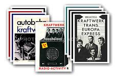 KRAFTWERK - 10 promotional posters  collectable postcard set # 1