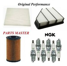 Tune Up Kit Filters Spark Plugs For HYUNDAI GENESIS COUPE V6 3.8L 2010-2011
