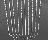 Wholesale Mixed 10X Jewelry 925 Sterling Silver Plated Necklaces Chains Pendants
