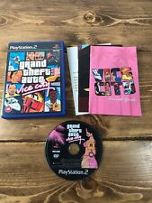 Grand Theft Auto Vice City PS2 Game Complete With Map & Manual