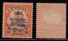 France Occupation Togo 1914 Sc 160 Mint