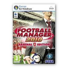 FOOTBALL MANAGER 2010 - ARSENAL EDITION MAC DVD NEW