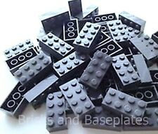 LEGO BRICKS 50 x  DARK GREY 2x4 Pin - From Brand New Sets Sent in a Clear Sealed