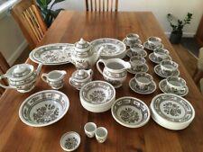 """Vintage Wood & Sons  from Burslem, England """"Dorset"""" pattern dinner setting"""