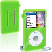Green New Silicone Skin Cover Case for iPod Classic 7th Gen 160GB 6/7th 120GB M