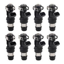 8PCS 42lb 440cc Fuel Injectors for GM Marine 8.1L Truck 2001 2002 2003 2004