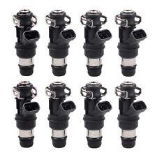 8PCS 835cc 80lb Fuel Injectors For 01-04 Chevrolet Silverado GM Marine 8.1L
