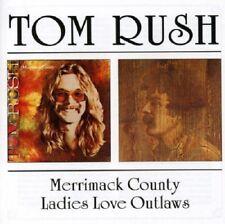 Tom Rush Merrimack County/Ladies Love Outlaws 2on1 CD NEW SEALED Folk
