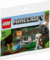 LEGO 30394 Minecraft The Skeleton Defense PolyBag - BNIP - Sealed - New - V2