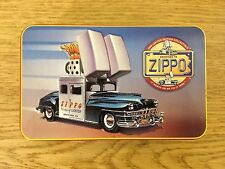 1998 ZIPPO CAR LIGHTER WITH KEY CHAIN PAPERWORK TIN LIMITED EDITION