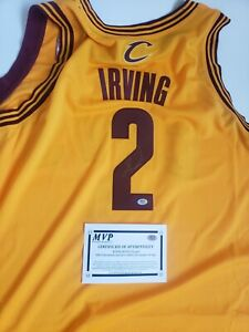 Kyrie Irving #2 Cavaliers Signed Jersey. Size XXL. With COA