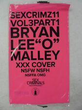 SEX CRIMINALS # 11 Bryan Lee O'Malley XXX Cover VARIANT Scott Pilgrim SEALED