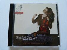 RACHEL PODGER - Baroque Violin - Bach: Sonatas & Partitas Vol. 1 CD (1999)