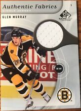 2005-06 SP Game Used Authentic Fabrics Glen Murray AF-GM Boston Bruins