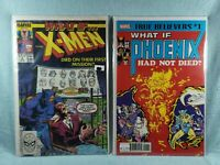 What If...Lot of 2 Marvel Comics #1 Phoenix had not died #9 Xmen died on mission
