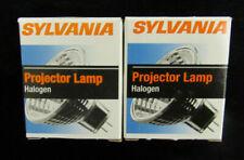 Lot Of 2 Sylvania Halogen Projector Bulbs 250w 82v Photo Optic Bulb Exy J6b8
