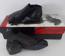 Capezio Kids Jazz Split Sole Black Leather Gore Boot CG05C Young Child Size 11 M
