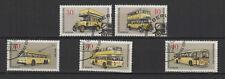 1973 Allemagne Berlin transports berlinois 5 timbres oblitérés/T2224