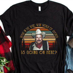 Blazing Saddles Shirt Wide World Of Sports Is Going On Here Movie HS0104679 V0