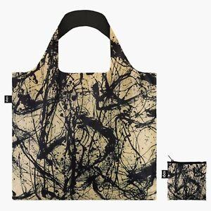LOQI Reusable Tote Bag Artist Jackson Pollock Number 32 1950 inc zip pouch