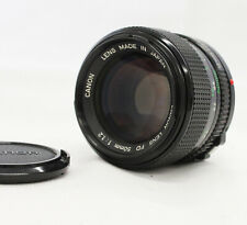 [Near Mint] Canon New FD NFD 50mm F/1.2 MF Lens from Japan