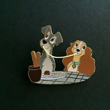 DisneyStore 110th Legacy Collection Lady and the Tramp LE 250 Disney Pin 84468