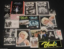 Rare 1979 Official Blondie Fan Pack Debbie Harry 25 items Collectors lot Deborah
