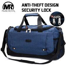 MARKROYAL Multifunctional Waterproof Men Travel Bag Anti-Theft