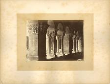France, Sens Vintage albumen print.  Tirage albuminé  10x14  Circa 1880