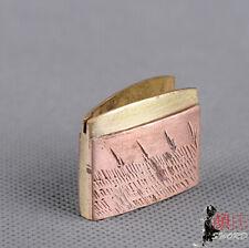 2 layer welding Red Copper Habaki Collar For Japanese Samurai Sword Katana