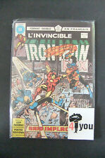 7.5 Vf- Very Fine- Iron Man # 145 Canadian Euro Variant Owp Yop 1980