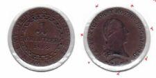 AUSTRIA - 1 KREUTZER COIN 1812 B YEAR KM#2112 XF+