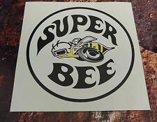 Dodge Super Bee Clásico Pegatina de Coche 150mm Redonda Músculo Coche Decal