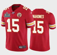 Men's Kansas City Chiefs #15 Patrick Mahomes men Jersey S-3XL with Free Shipping