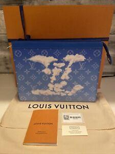 New!! Louis Vuitton Clouds POCHETTE A4
