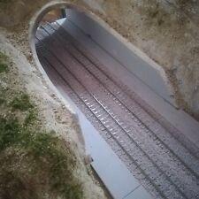 Plastico Ferroviario Portale Tunnel H0