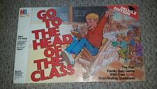Vintage 1986 Go To The Head Of The Class board game deluxe edition MB.