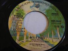 """The Boones - You Light Up My Life / He's A Rebel 7"""" 45 RPM Vinyl"""