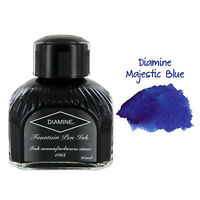 Diamine Fountain Pen Bottled Ink, 80ml - Majestic Blue